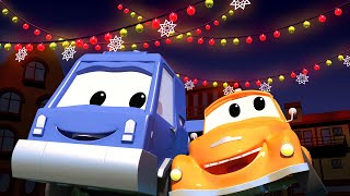 Odtahové auto pro děti - Chuck a vánoční osvětlení