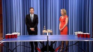 Beer Pong With Helen Hunt