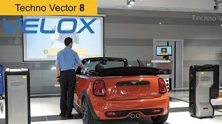 "3D стенд развал-схождения бесконтактный Techno Vector 8 VELOX от компании ТОВ ""ДІАГНОСТІК-ЛАЙН"" - видео"