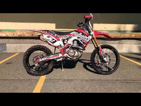 2016 Honda CRF450R in Auburn, Washington - Video 1