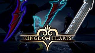 Kingdom Hearts 3 - Riku's New ''Dimple'' Keyblade - Dusk, Dawn & Twilight?