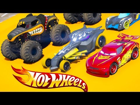 HOT WHEELS WATER PARK PARKOUR CHALLENGE (Cars 3 Challenge)