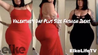 Slay on your Valentine's Day | Plus Size Fashion Outfit Ideas & Try on (MUST SEE!!!)