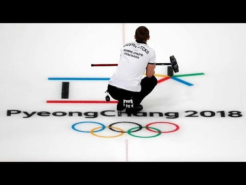 Curling opens competition at Winter Olympics