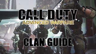 Call of Duty: Advanced Warfare | How to Create a Clan