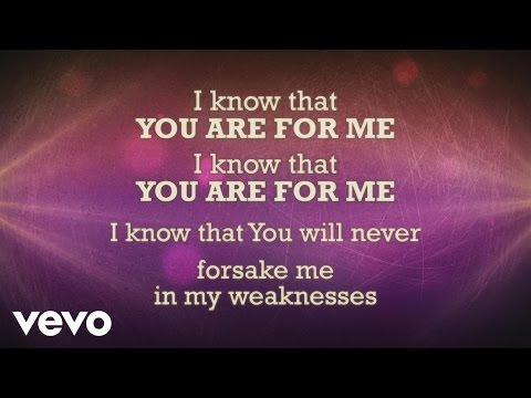You Are For Me - Youtube Lyric Video