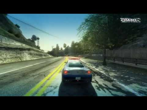 The Cop Cars of Burnout Paradise