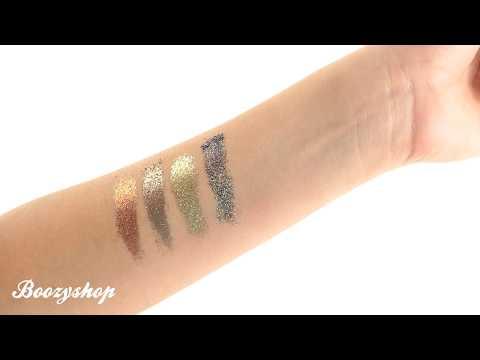 NYX Professional Make Up NYX Cosmetics Glitter Goals Cream Quad Palette Galactica