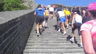 Video : China : The Great Wall 长城 Marathon 2011