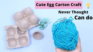 Cute DIY Egg Carton Craft Idea / Aloha Crafts