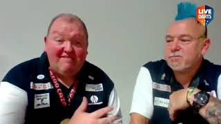 """John Henderson on World Cup win with Peter Wright: """"I said I wouldn't cry but it just means so much"""""""