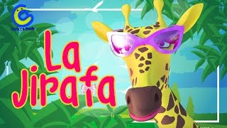 Música Infantil Para Niños La Jirafa  Vídeos De Música Infantil
