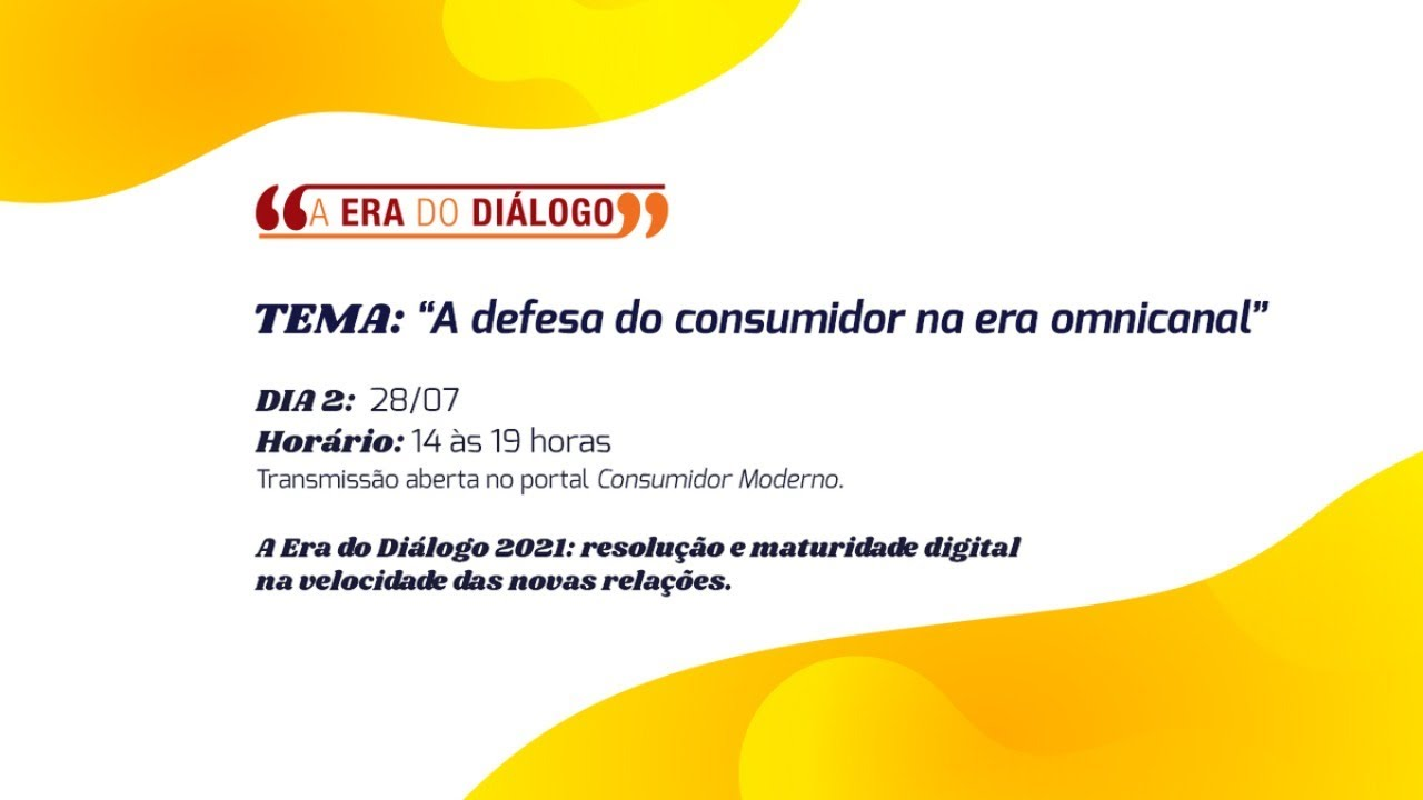 A Era do Diálogo 2021: maturidade digital no atendimento ao cliente (DIA 2)