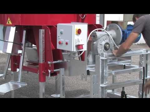 Míchací stroj na plnění pytlů pískem AFM 175