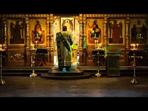 День Святой Троицы — Коленопреклоненные молитвы (Валаамский монастырь)