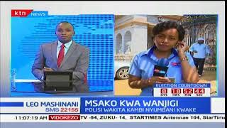 Polisi wakita kambi nyumbani mwa Jimmy Wanjigi kwa msako wa silaha zilizopatikana katika jumba lake
