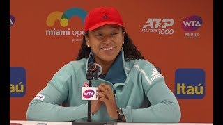 Naomi Osaka Press Conference   2019 Miami Open Second Round