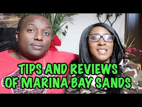 MARINA BAY SANDS SINGAPORE HOTEL REVIEW OF $3K ROOM!