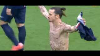 Zlatan Ibrahimovic Showing Off His NEW Body Tattoos After Dream Goal