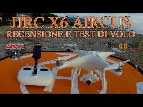 RECENSIONE JJRC X6 AIRCUS