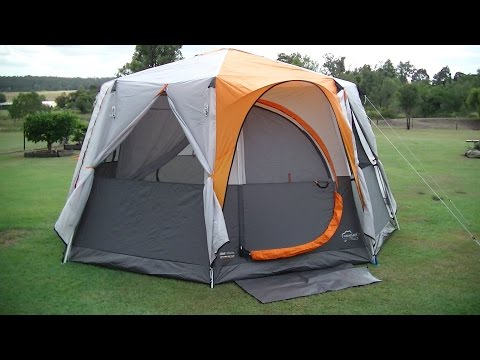 Coleman OCTAGON 98 TENT with Full Fly ~ Easy SETUP and Review