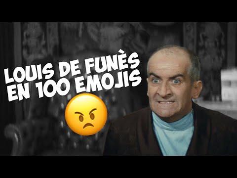 Louis de Funès en 100 emojis !