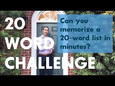 Learn How To Memorise Information With This Video From A World Memory Champion