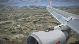 preview picture of video 'A trip to Mallorca - FSX Aerosoft Mallorca X'