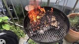 Aldi Holzkohlegrill Mit Elektrischer Belüftung Bedienungsanleitung : Grill richtig anzünden mit grillanzünder aus der natur