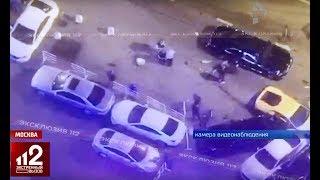 Безумно дорогая авария в центре Москвы! Видео!