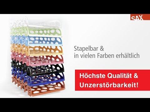 SAX Briefkorb Voronoi Stapelbar