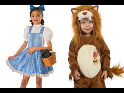 Disfraces de El mago de Oz para niños y niñas