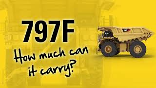 Fun facts about the body of the Cat® 797F