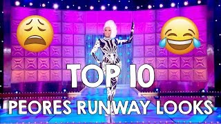 Peores Looks De Drag Race
