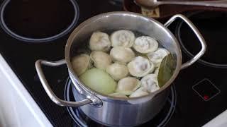 Как варить сибирские пельмени(старинный семейный рецепт;)Какие пельмени НЕ покупать.