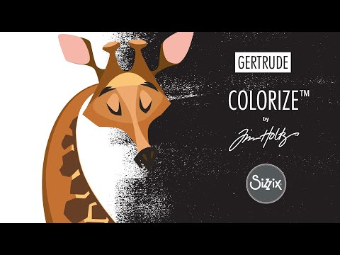 Colorize™ by Tim Holtz®, Gertrude - Sizzix