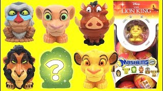 Disney The Lion King Mashems Squishy TOY Surprise Capsules