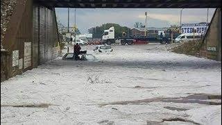 Deadly hailstorm tears through Johannesburg and surrounds