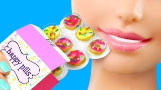 20 DIY Tiny Foods For Barbie / Clever Barbie Hacks And Crafts