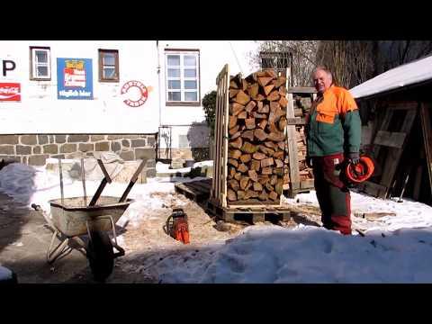 wip-System Brennholzlagerung 1 m-Holz