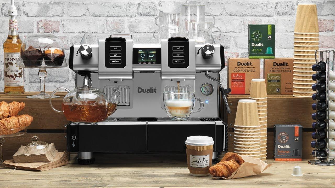 Dualit CaféPro Capsule Machine preview