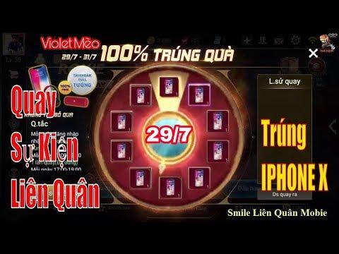 Chủ Nhân Đầu Tiên Trúng Iphone X Sự Kiện Liên Quân 29/7 - Violet  Mèo,Th-Film.com