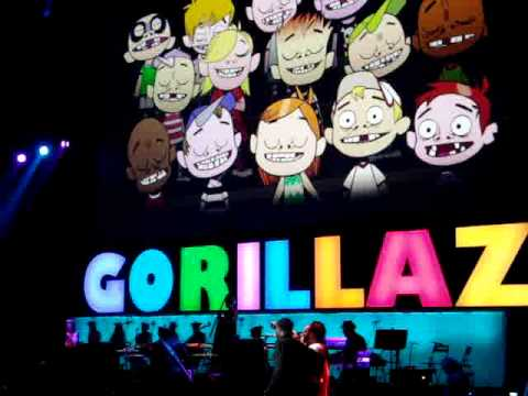 Gorillaz - Dirty Harry Live feat  Bootie Brown @ Gibson