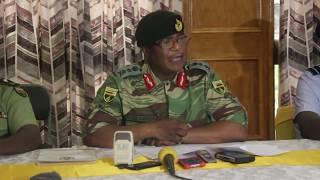 ZNA/General  Chiwenga Full Press Conference (13 November 2018)