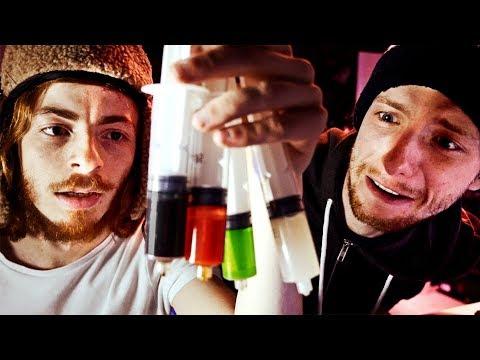 Des ampoules de dosage de linsuline
