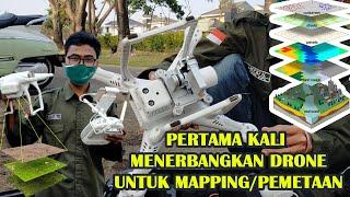 Pertama kali belajar mapping, mengambil foto udara dengan drone DJI Phantom 3
