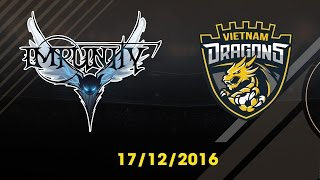 [17.12.2016] [EA CCW 2016] IMPUNITY vs VIETNAM DRAGONS [Group Stages]