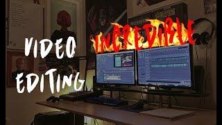 Eu vou editar um vídeo de maneira incrível