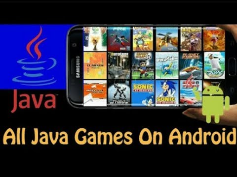 How to download java games on Android