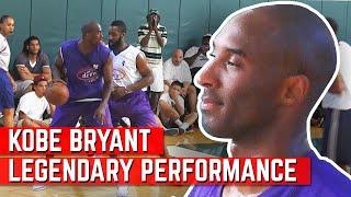 Kobe Bryant LEGENDARY Performance VS James Harden At Drew League!